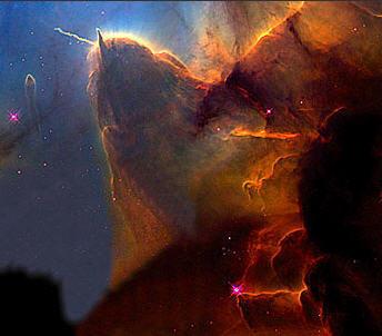 manu-violet wallpaper titled Nebula