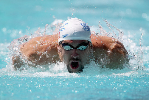 Michael Phelps wallpaper with a breaststroker and a water called M. Phelps (Santa Clara International GP)