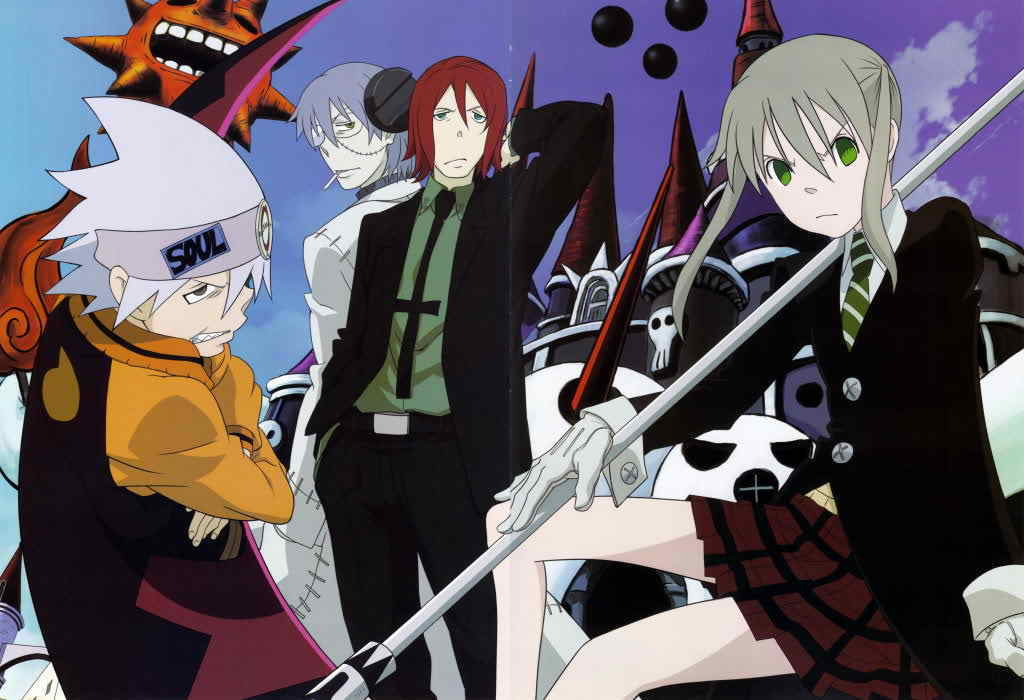 Soul Eater Arachne And Giriko Maka, Soul, Spirit and...