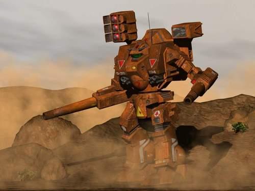 MBR-04-MkVI Destroid Tomahawk