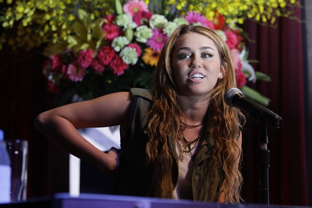 Miley - At a Press Conference in Makati City, Philippines (16th June 2011) - miley-cyrus photo