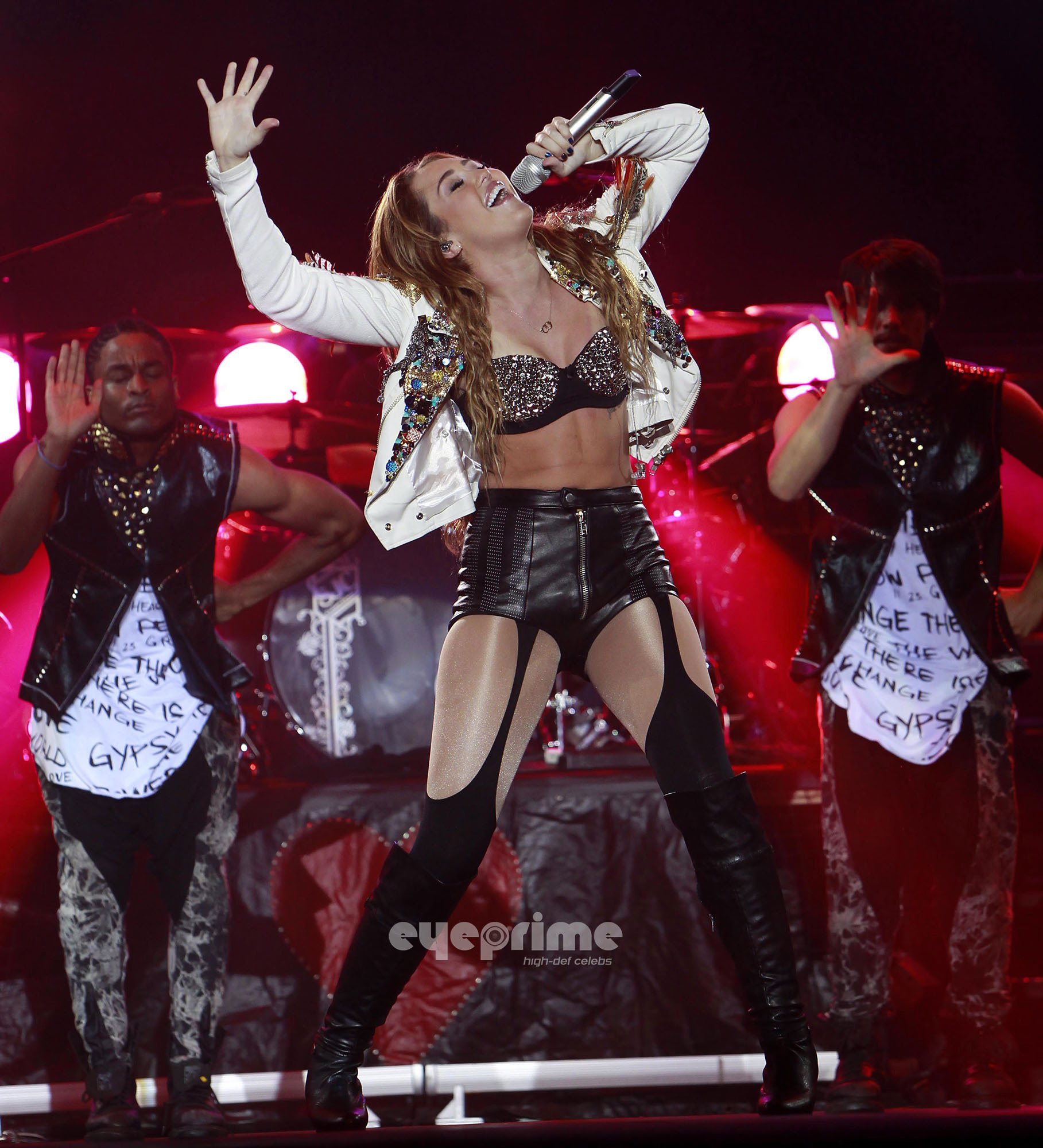Miley Cyrus performs during a concert in Pasay City, Philippines, Jun 17  - miley-cyrus photo
