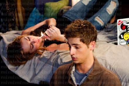 Miley and Jean-Luc Bilodeau