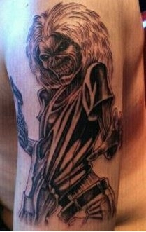 My Eddie tatoo!