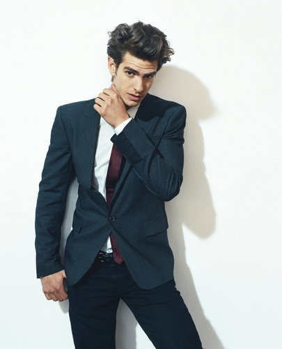 Andrew Garfield پیپر وال with a business suit, a well dressed person, and a suit entitled New Details Outtakes