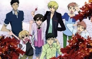 Ouran High School Host Club Group