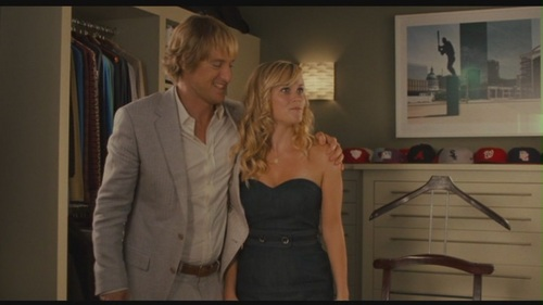 "owen wilson wallpaper probably containing a koktil, koktail dress and a bridesmaid entitled Owen Wilson in ""How Do anda Know"""