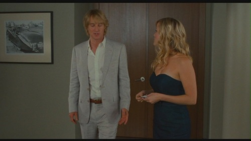 "Owen Wilson karatasi la kupamba ukuta containing a business suit and a well dressed person entitled Owen Wilson in ""How Do wewe Know"""