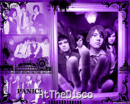 Panic! At The Disco Purple Wallpaper Image - panic-at-the-disco Photo