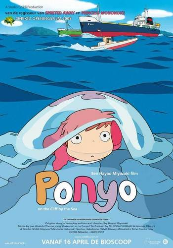 Ponyo on the Cliff da the Sea
