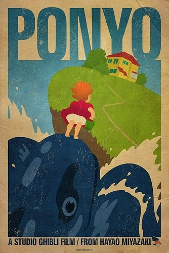 Ponyo on the Cliff por the Sea