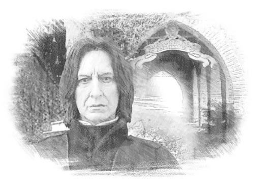 Potions Master Severus Snape