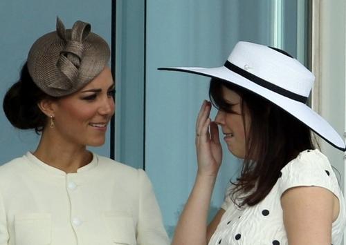 Princess Catherine & Princess Eugenie