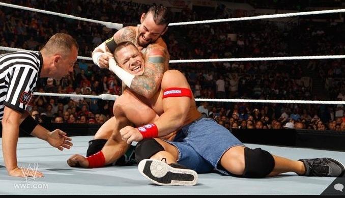 Wwe Nexus Vs John Cena Team Punk vs Cena (a...