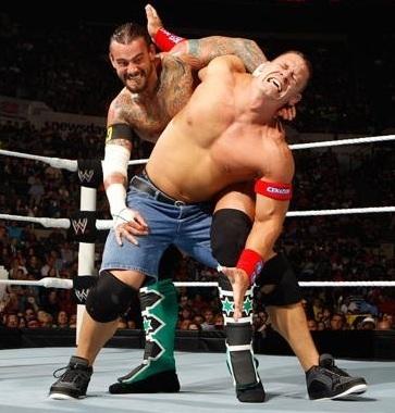 Punk vs Cena (all estrella raw)