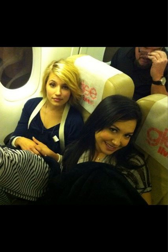 Quinn + Santana