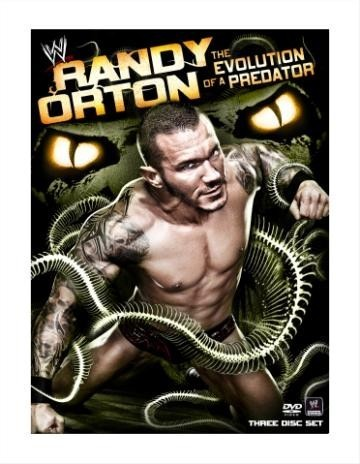 Randy Orton The Evolution of a Predator DVD cover