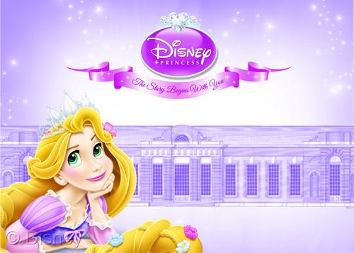 Rapunzel is the official ডিজনি Princess! From October 2!