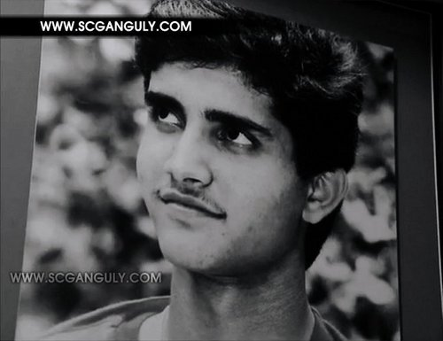 Rare foto's of Ganguly