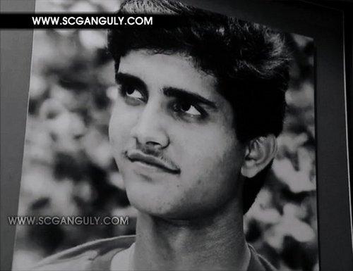 Rare fotos of Ganguly