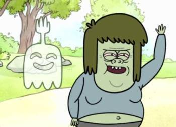 http://images4.fanpop.com/image/photos/22900000/Regular-show-crew-mucle-man-and-high-five-ghost-22952900-350-253.jpg