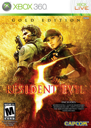 Resdient Evil 5 Gold Edition