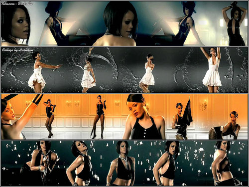 rihanna ― Umbrella (Сollage)