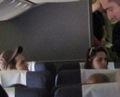 Rob and Kris on the plane <3 - twilight-series photo