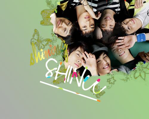 K-pop Обои titled SHINee