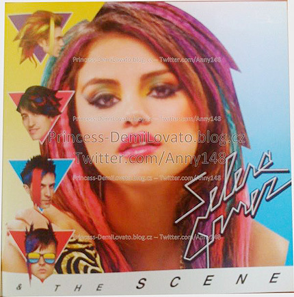 Selena Gomez Hintergrund with a portrait called Selena Gomez New Colorful Look