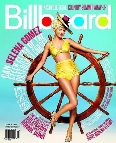 Selena In Billiboard!!