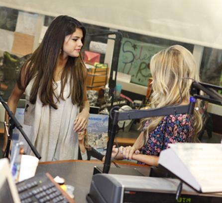 Selena - On Air With Kidd Kraddick - June 15, 2011