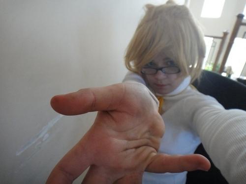 Servant of Evil Len cosplay-In progress