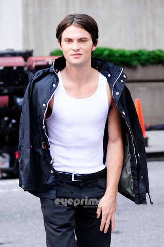 Shiloh Fernandez on the Set of Syrup in NY, Jun 18