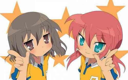 Shindou and Ranmaru Lucky bintang
