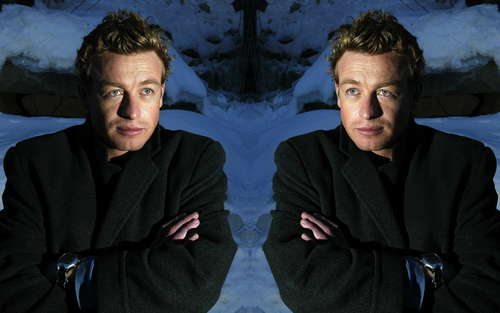 Simon Baker Mirror Portraits 06