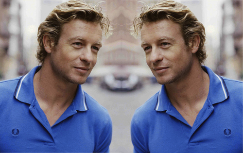 Simon Baker Mirror Portraits 07