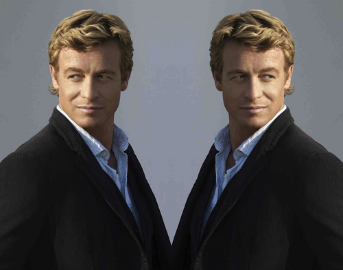 Simon Baker Mirror Portraits 08