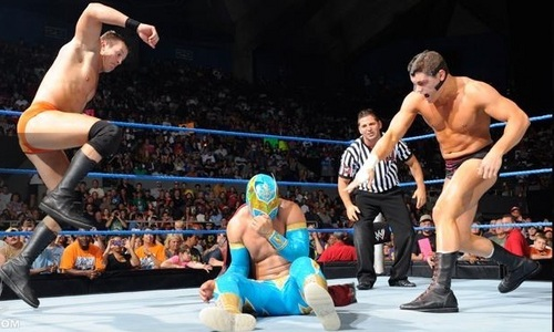 Smackdown tag match