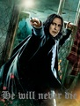 Snape will never die...