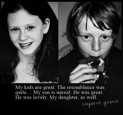 Rupert on the acters who play Hugo & Rose :))