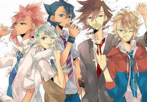 Some of the Inazuma Eleven boys