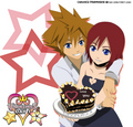 Sora x Kairi - kingdom-hearts photo