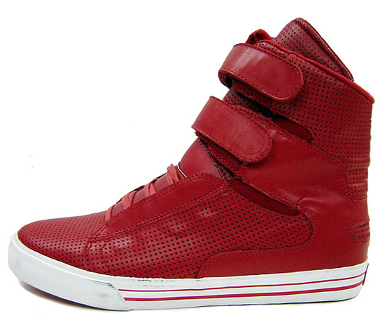 red supras shoes