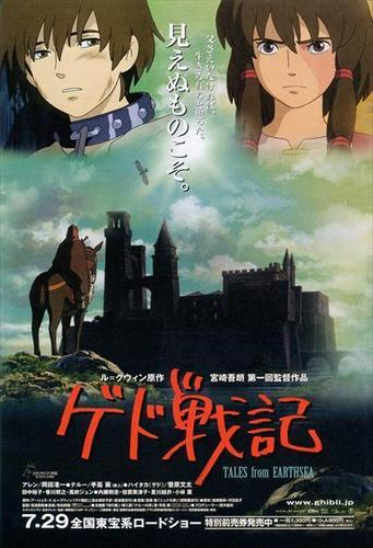 Studio Ghibli wallpaper containing animê entitled Tales from Earthsea