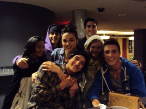 Teen loup Cast