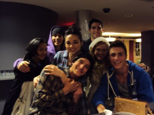 Teen serigala Cast