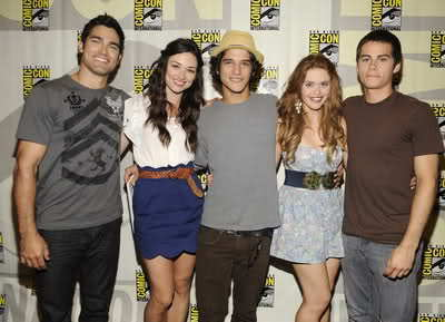 Teen Wolf wallpaper probably with a street called Teen Wolf Cast