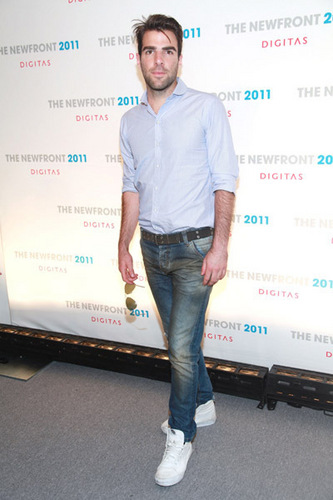 Zachary Quinto wallpaper entitled The 2011 NewFront Conference
