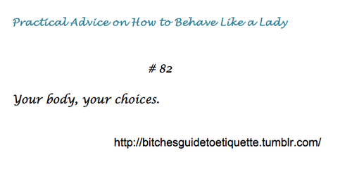 The B*tches Guide to Etiquette